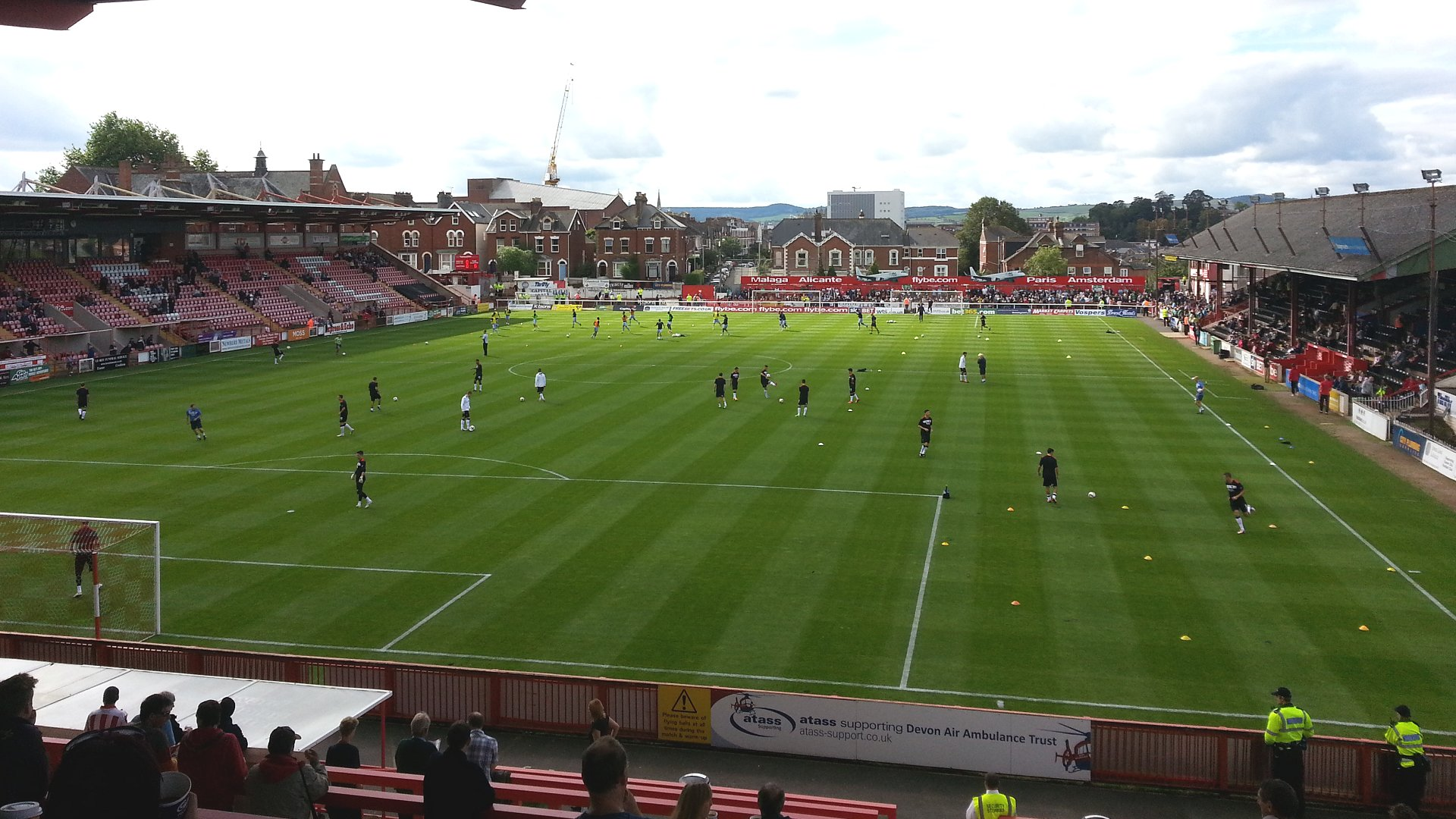 Exeter City F.C. (Football Club) Of The English Football