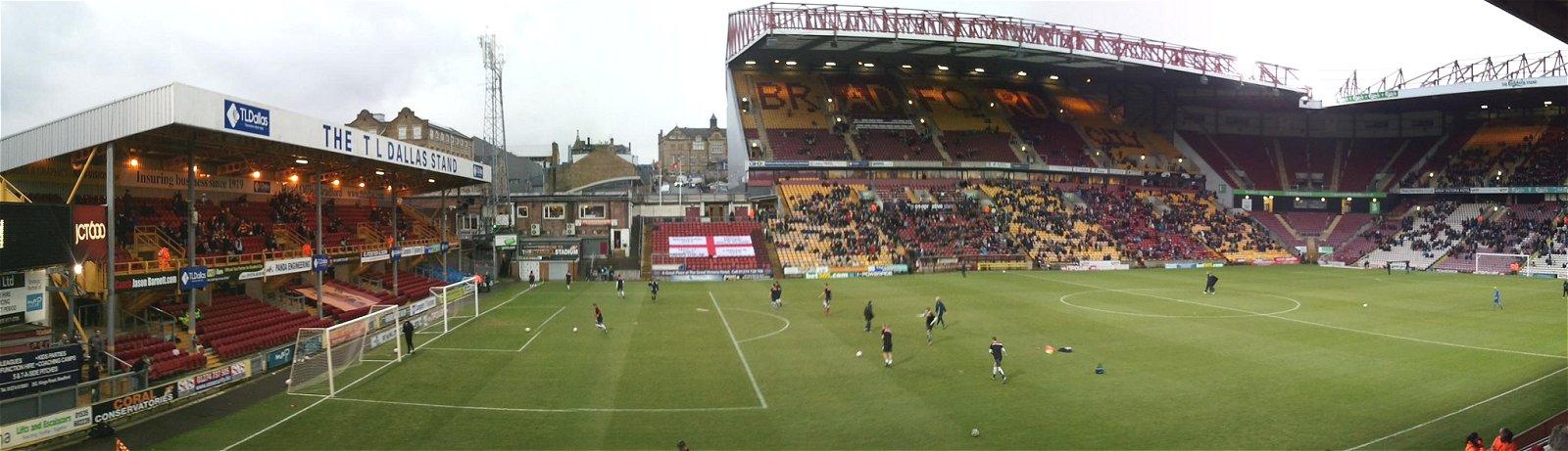 Bradford City A.F.C. (Association Football Club) of the Barclay's ...