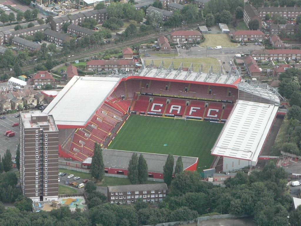 Charlton Athletic F.C. (Football Club) Of The Barclay's