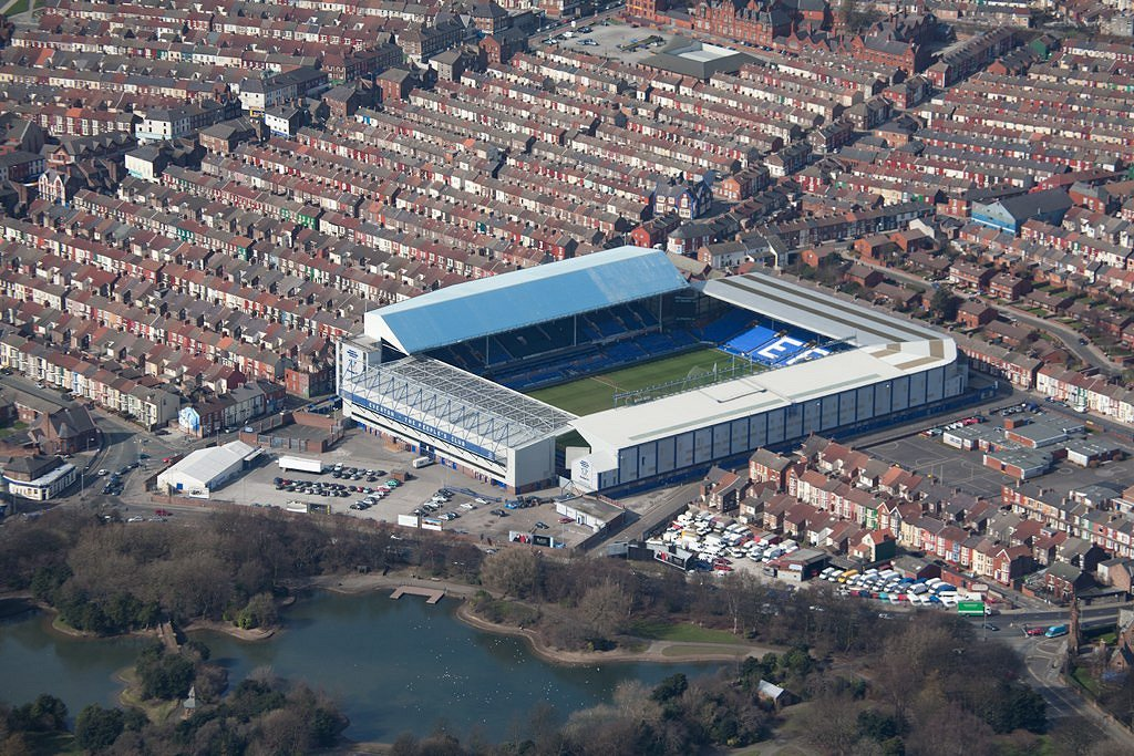 Everton F.C. (Football Club) Of The Barclay's Premier League