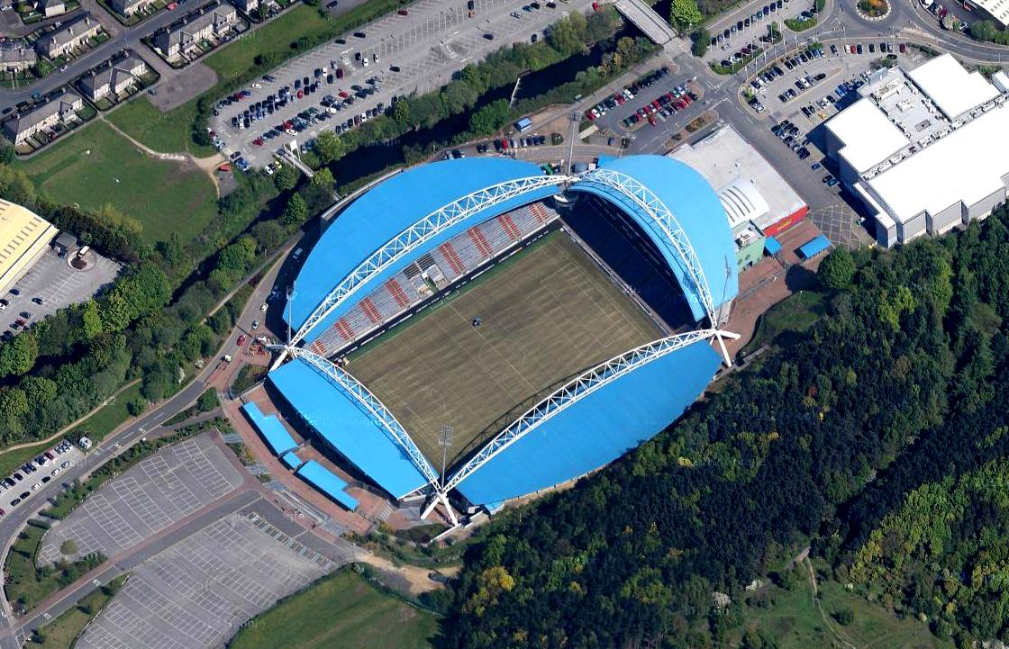 Huddersfield Town F.C. (Football Club) Of The Barclay's