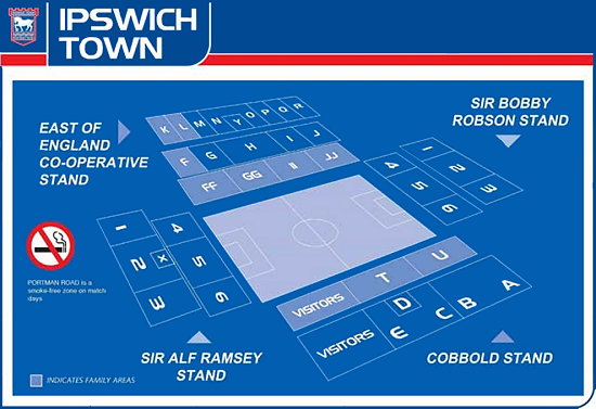 Ipswich Town F.C. (Football Club) Of The Barclay's Premier