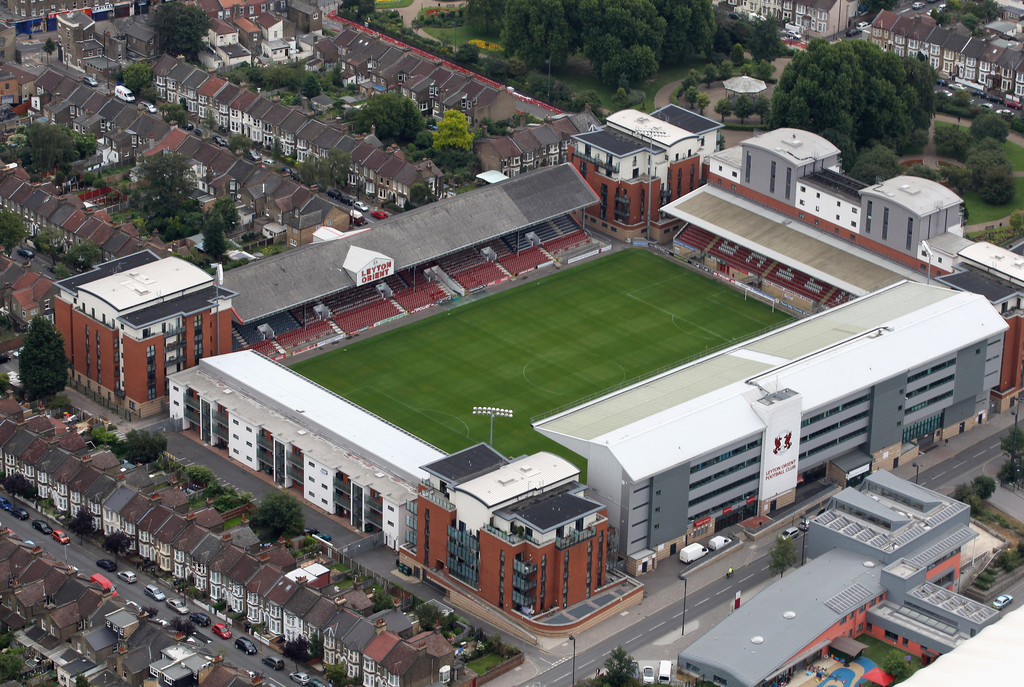 Leyton Orient F.C. (Football Club) Of The Barclay's