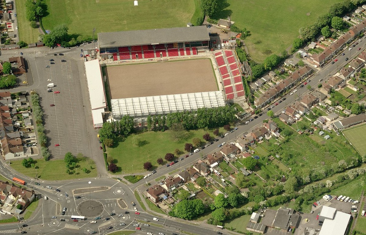 Swindon Town F.C. (Football Club) Of The Barclay's Premier