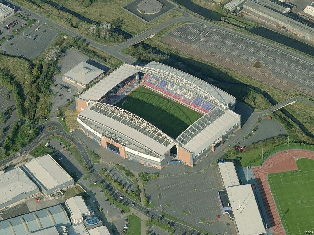 Wigan Athletic F.C. (Football Club) Of The Barclay's