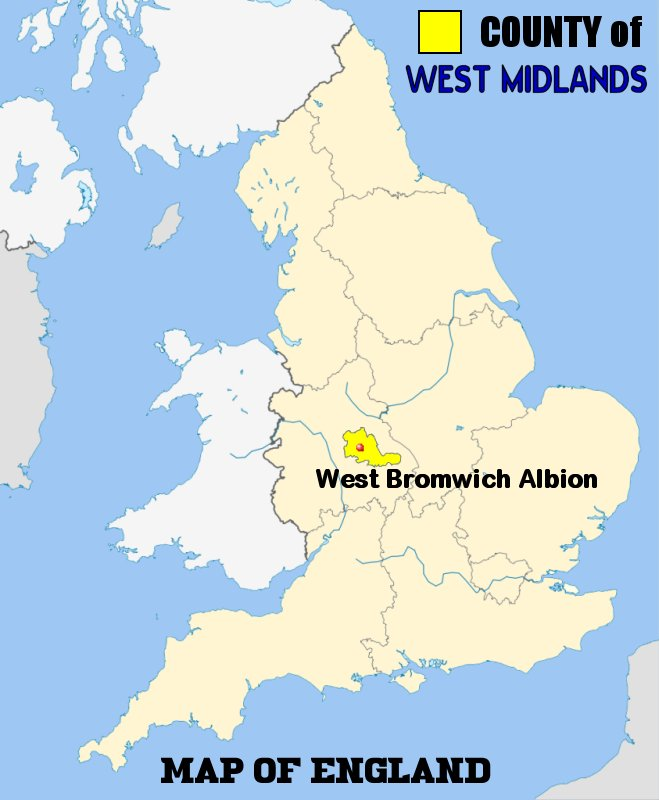 West Bromich Albion FC Football Club of the Barclays Premier League
