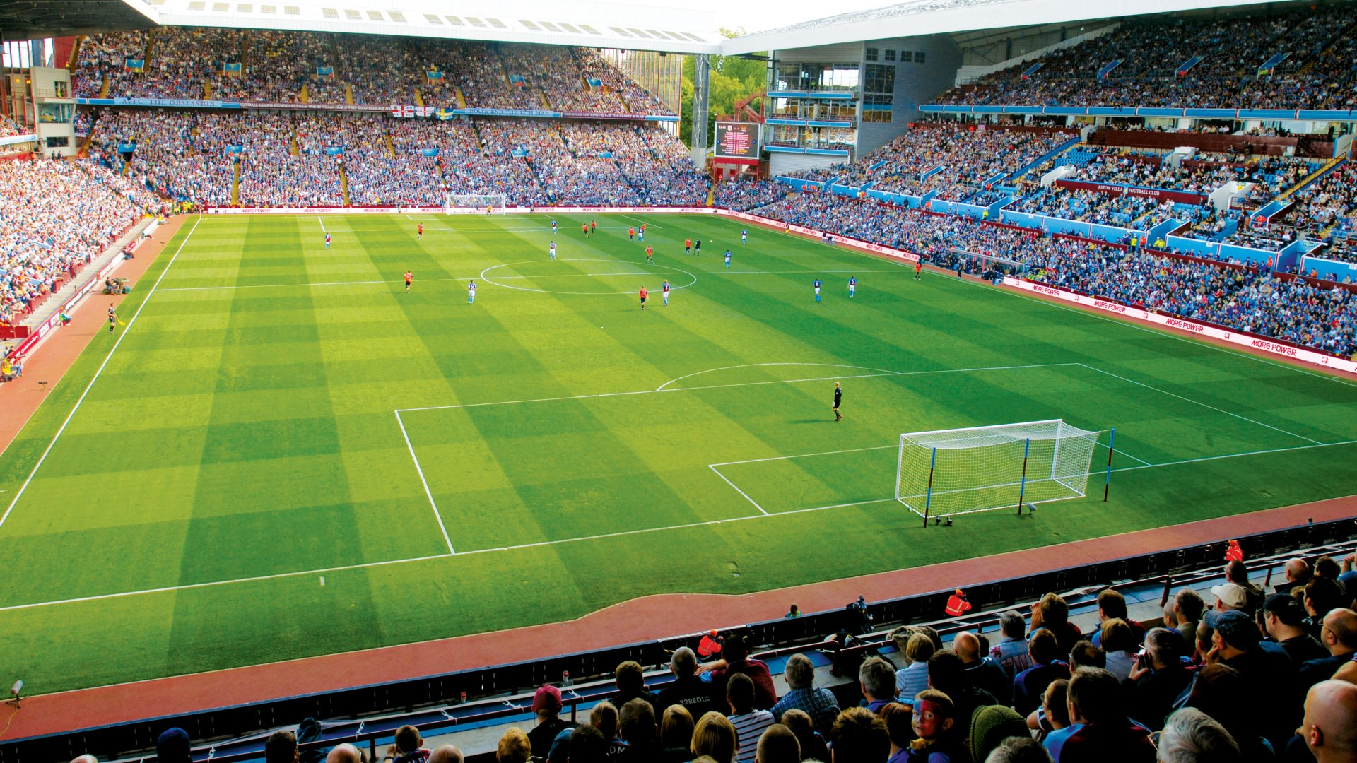 Aston Villa F.C. (Football Club) Of The Barclay's Premier