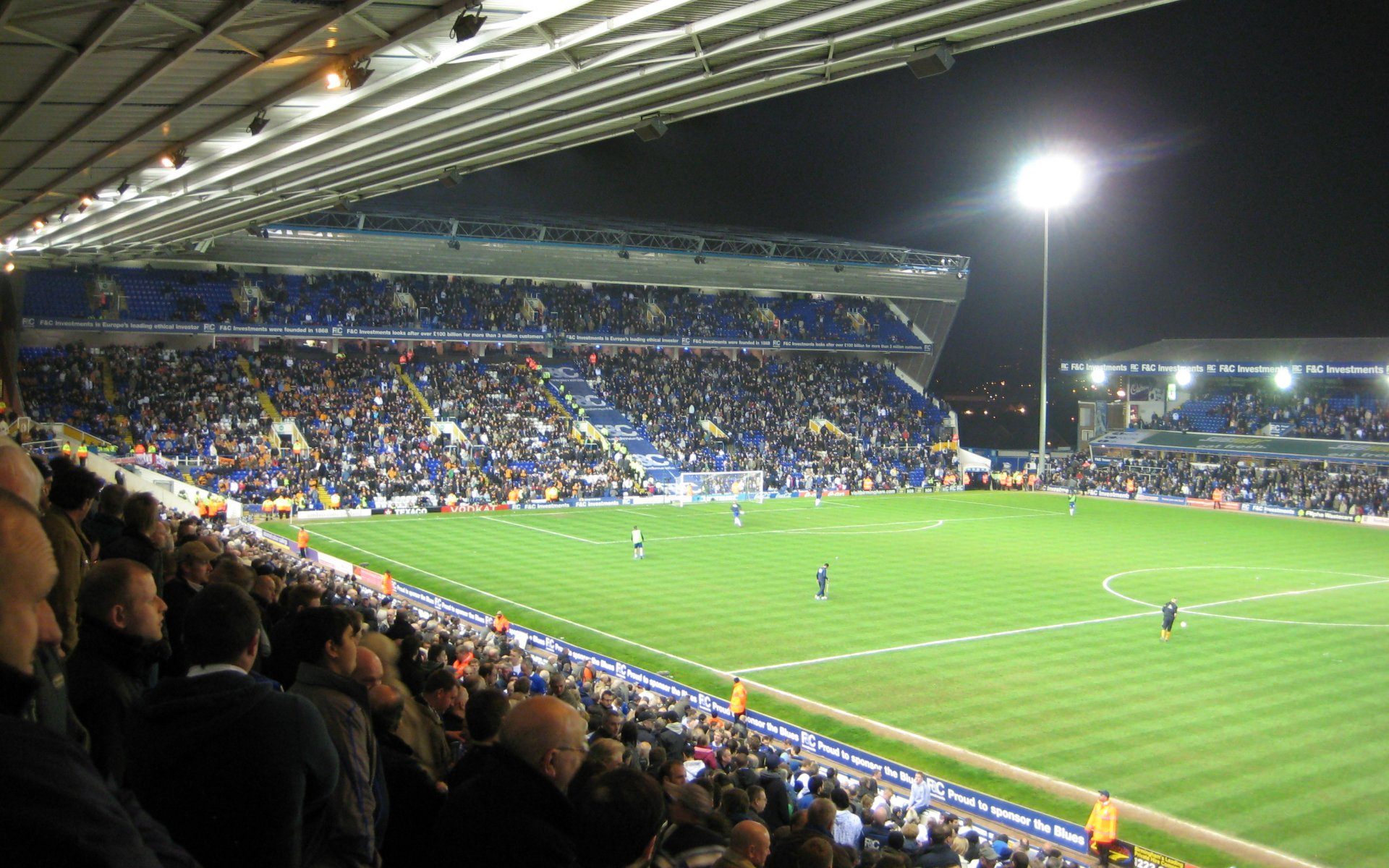 Birmingham City F.C. (Football Club) Of The Barclay's