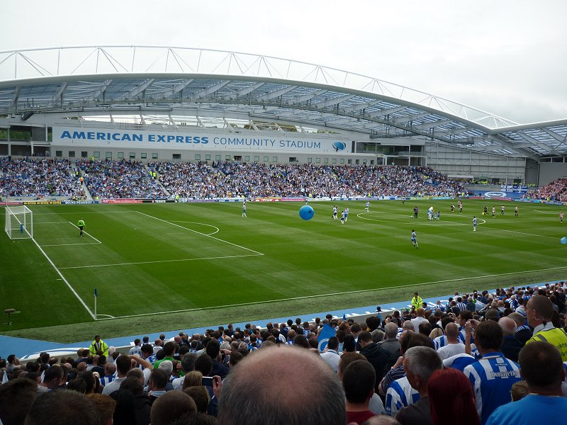 Brighton & Hove Albion F.C. (Football Club) Of The Barclay
