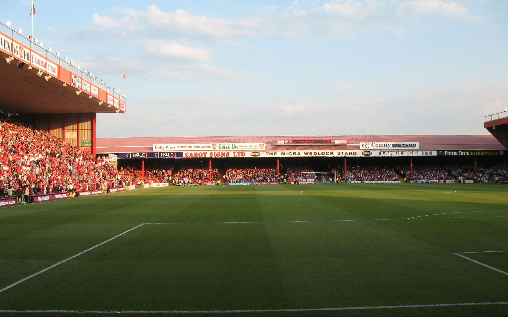 Bristol City F.C. (Football Club) Of The Barclay's Premier