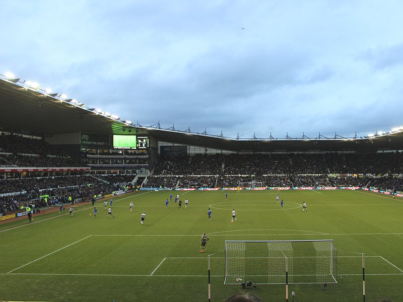 Derby County F.C. (Football Club) Of The Barclay's Premier