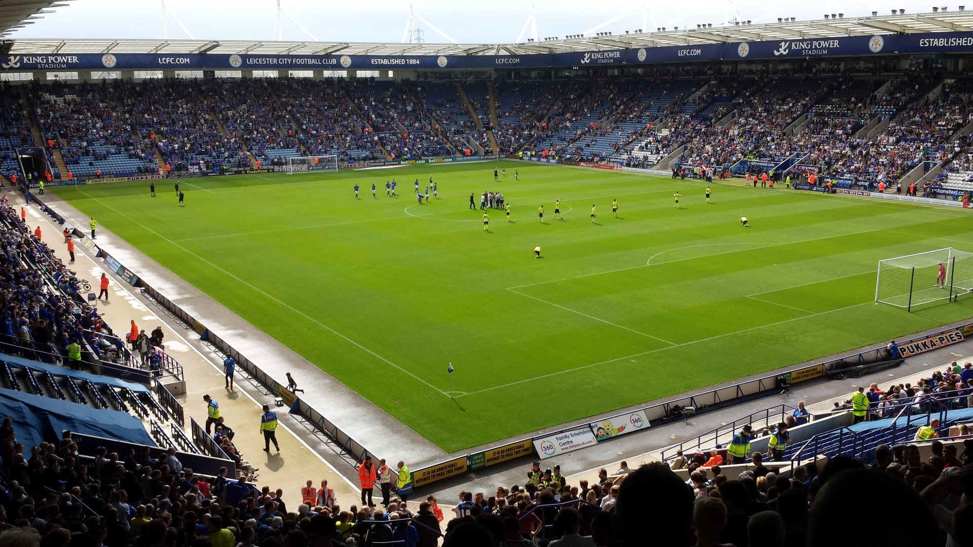 Leicester City F.C. (Football Club) Of The Barclay's
