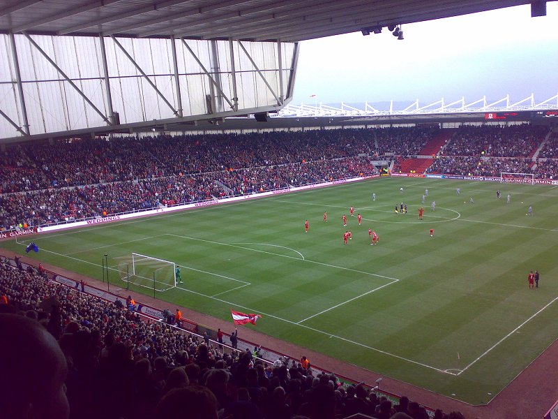 Middlesbrough F.C. (Football Club) Of The Barclay's