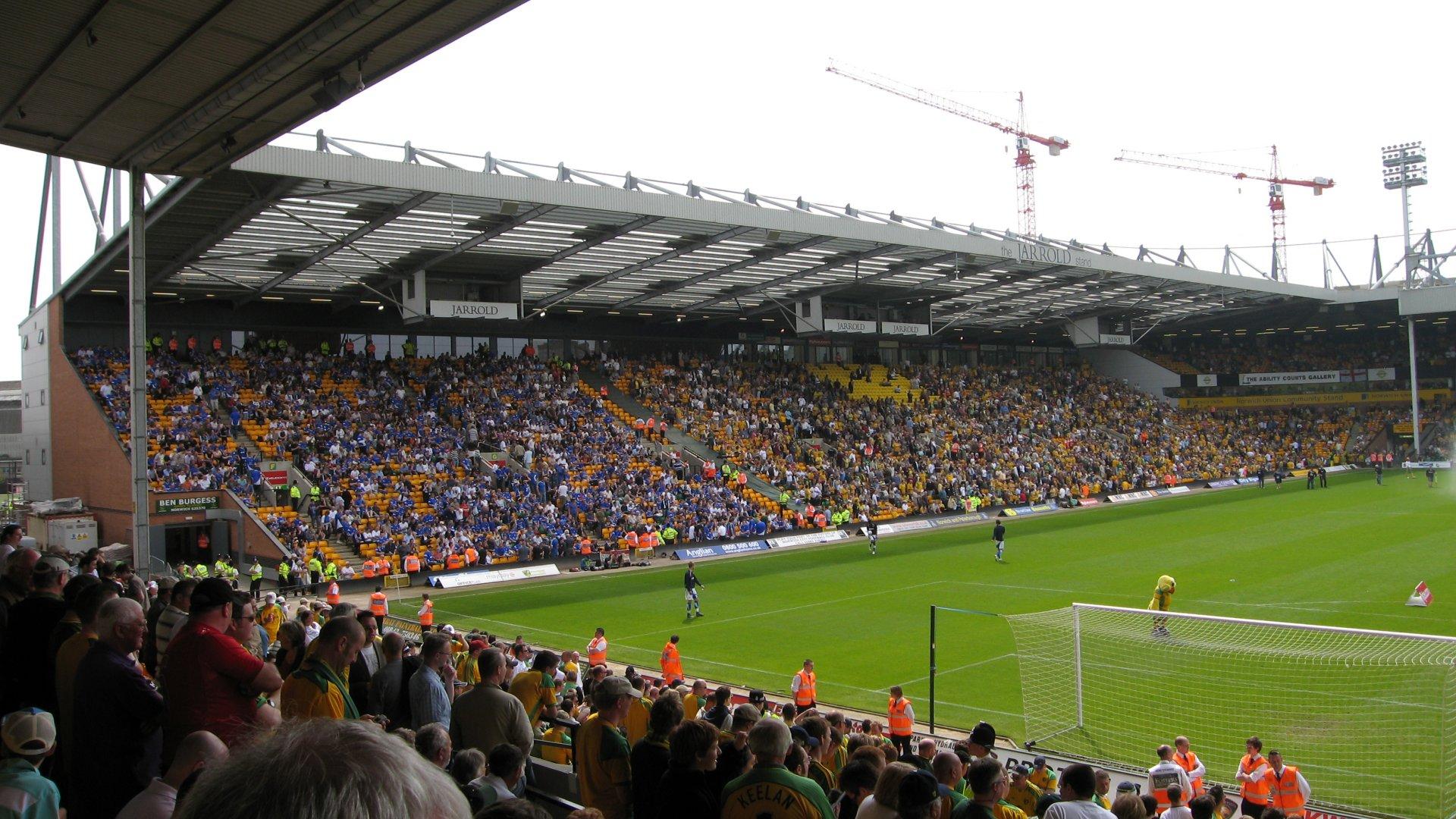Norwich City F.C. (Football Club) Of The Barclay's Premier