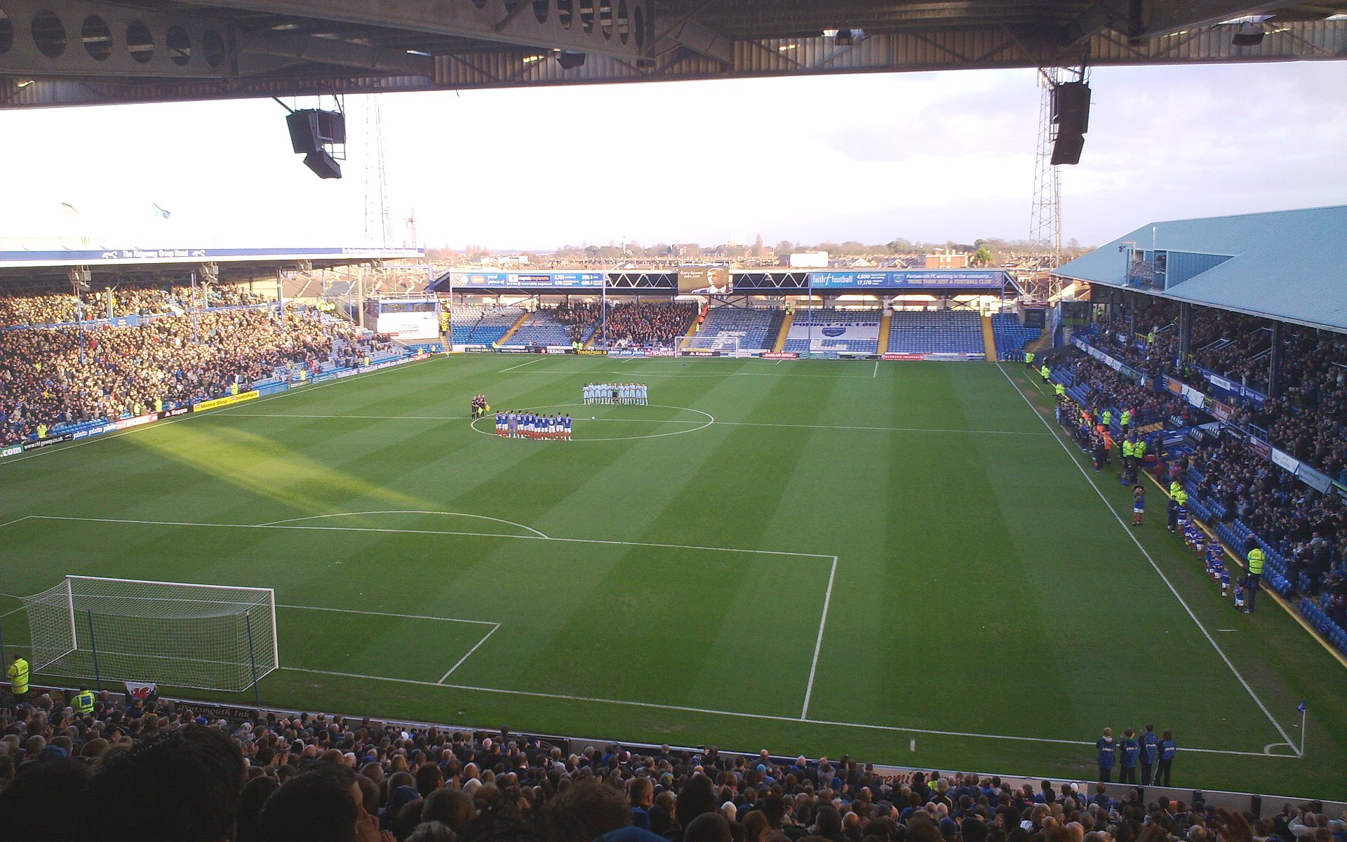 Portsmouth F.C. (Football Club) Of The Barclay's Premier