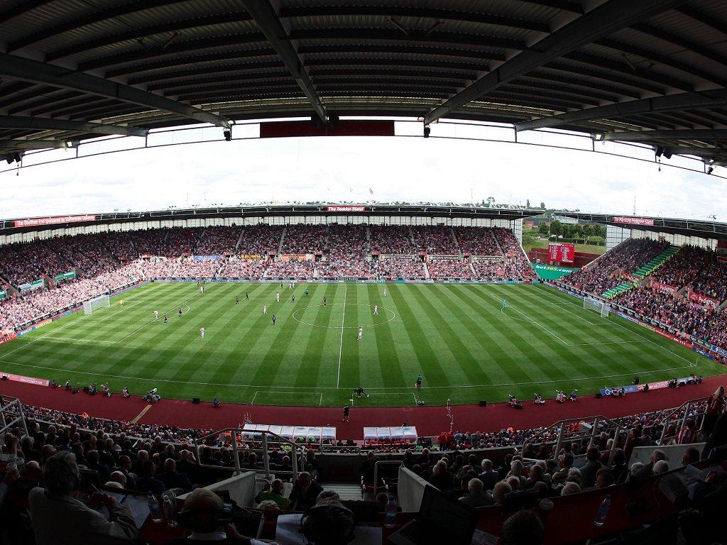 Stoke City F.C. (Football Club) Of The Barclay's Premier