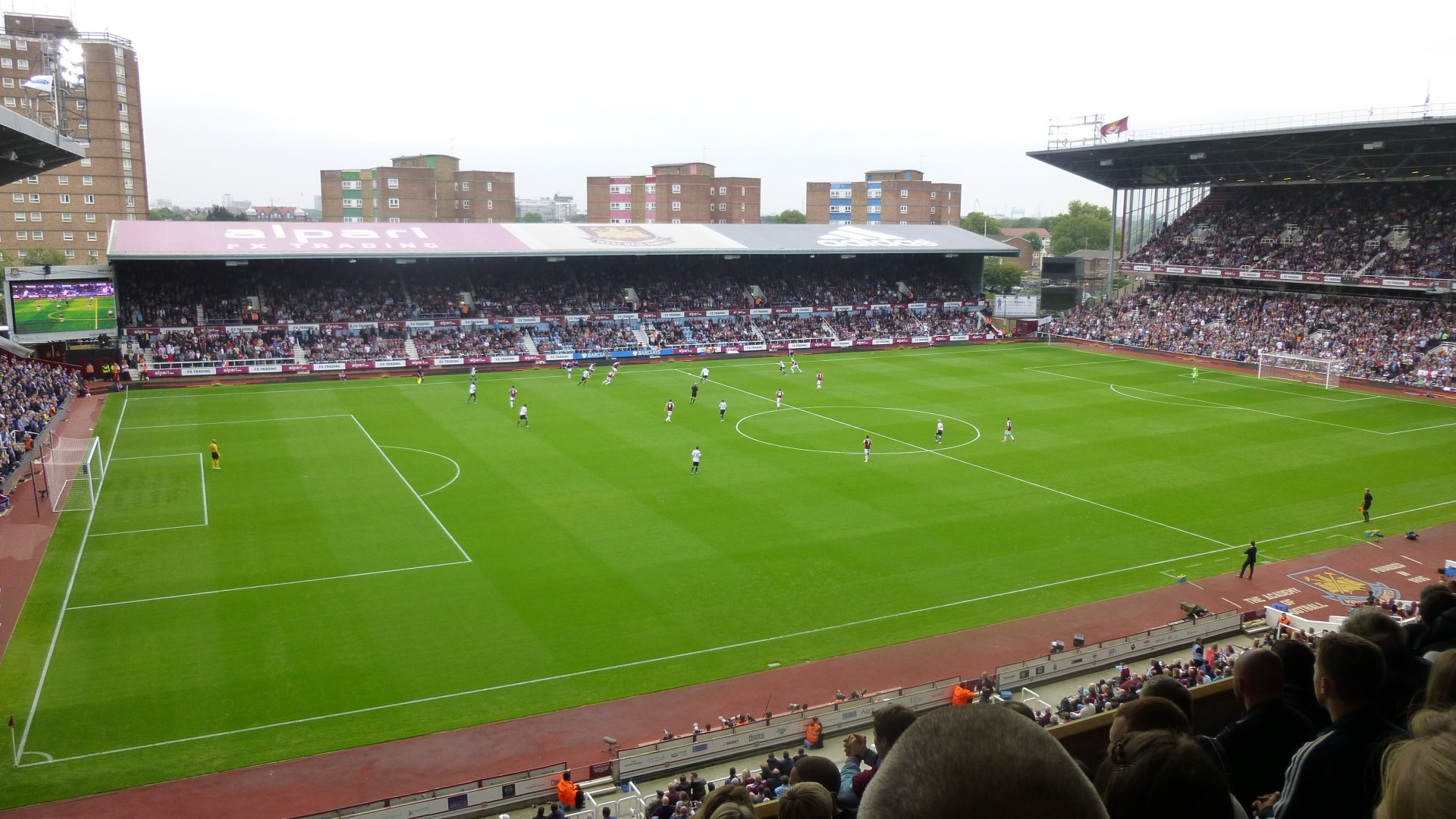 West Ham United F.C. (Football Club) Of The Barclay's