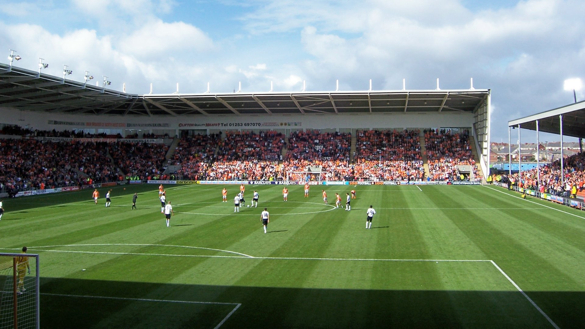 Blackpool F.C. (Football Club) Of The Barclay's Premier League