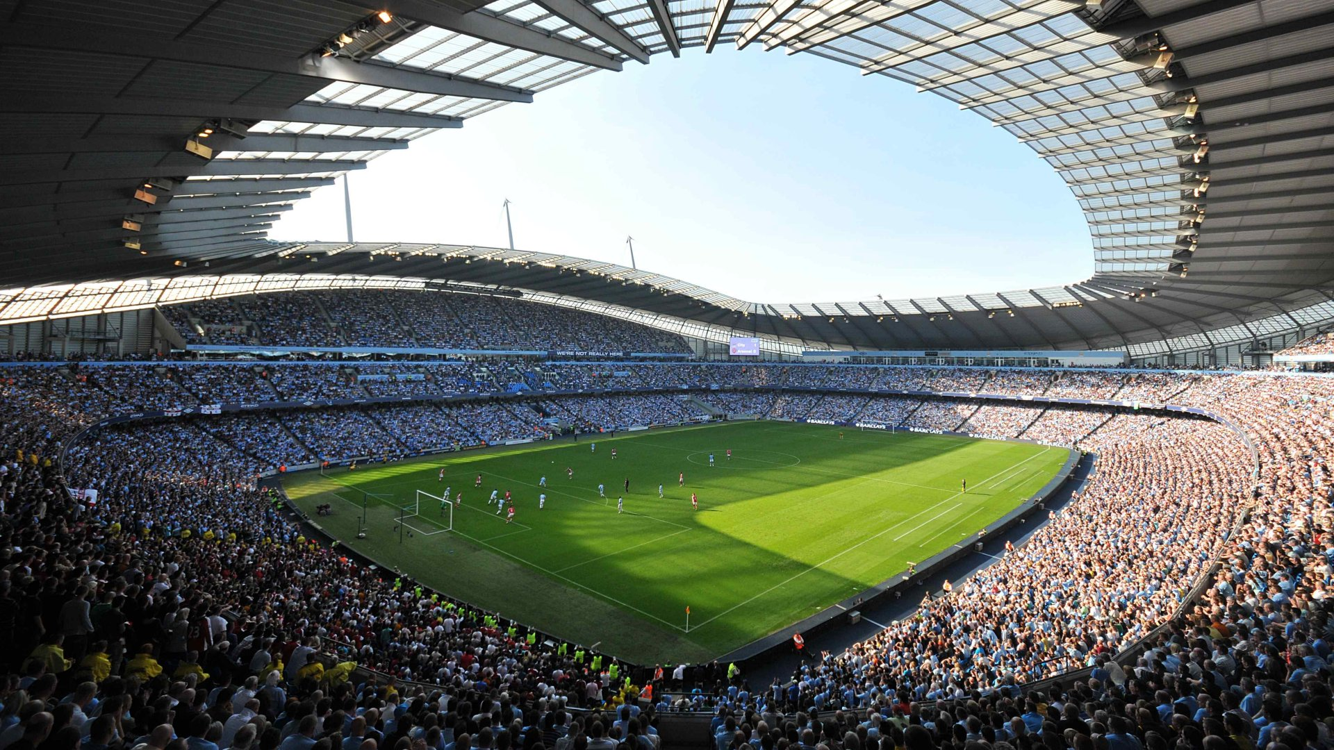 Manchester City F.C. (Football Club) Of The Barclay's