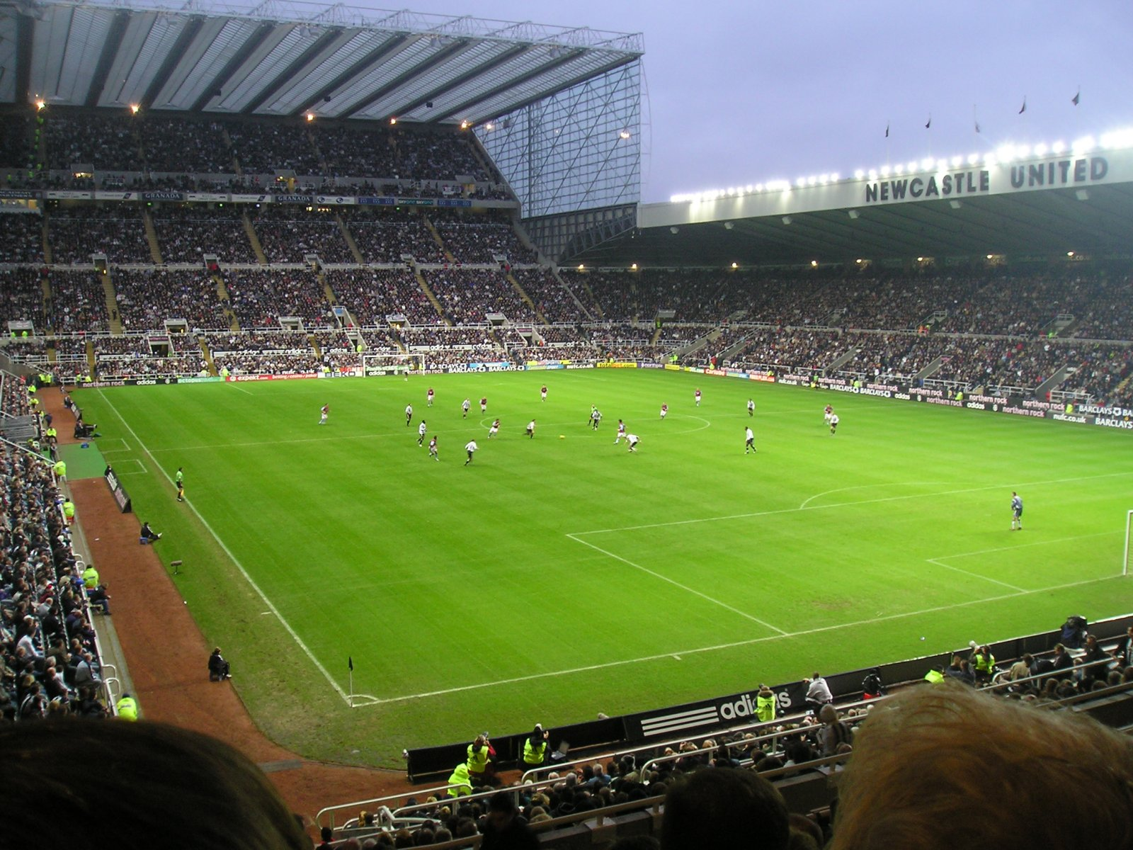 Newcastle United F C Football Club Of The Barclay S Premier League